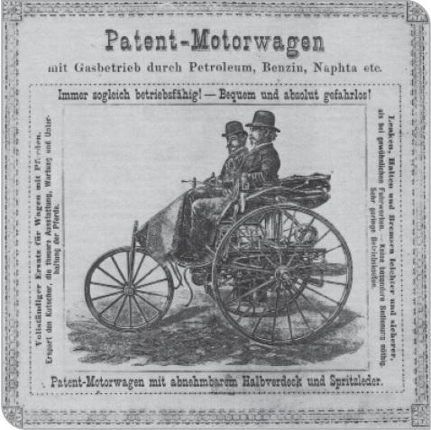 Patent Motorwagen