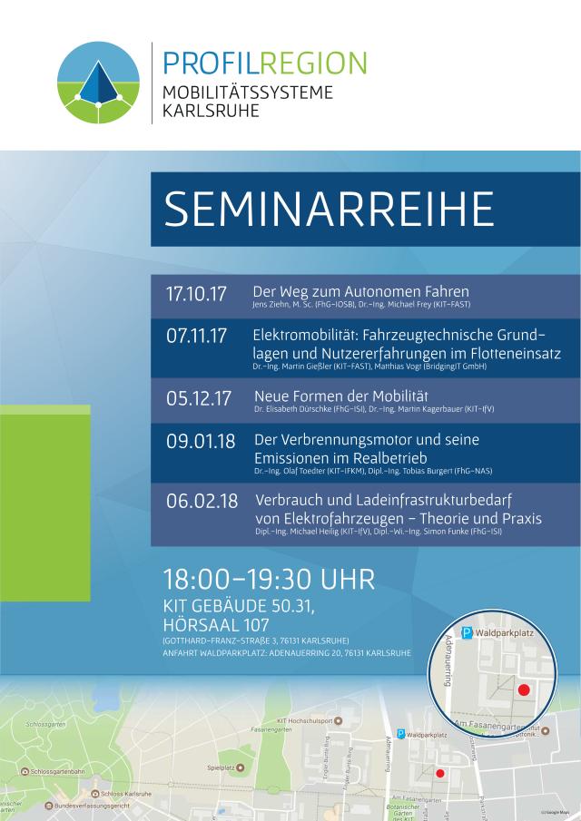 Seminarreihe Profilregion Plakat klein