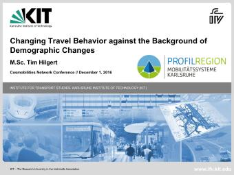 Changing Travel Bahaviour klein